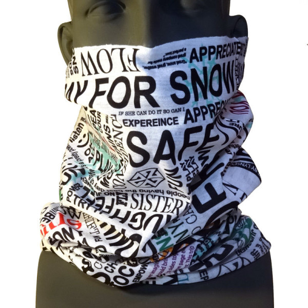 AVALON7 EMPOWERED TSHIELD WOMEN'S SKIING FACEMASK DESIGNED BY LYNSEY DYER