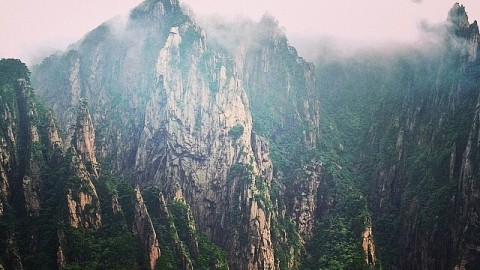 Adventurer @allisonmccuskey just sent us this photo from her journeys through Huangshan in China. Tag us in your adventure @avalon7 #liveactivated  The search continues!