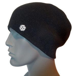 avalon7 warm black long winter snowboarding skiing beanie