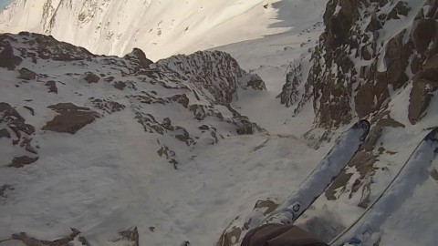 AV7 Renegade Doran Densmore just dropped a new ski edit from Argentina and it's Molt Fort (More Hard).