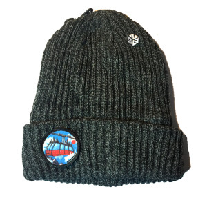 AVALON7 JH Tram by Halpin Ribbed winter beanie