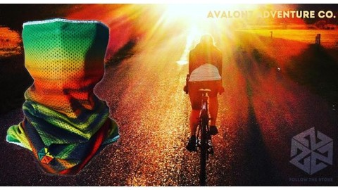 Spring is here!  Our Mesh Faceshields are super breathable and perfect for those chilly early spring bike rides.  Protective and warm without fogging your glasses!  Check them out by clicking the link in our bio.  www.followthestoke.com#avalon7 #followthestoke #biking #spring