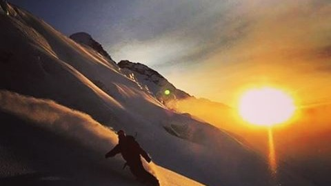 @cooperk finds his happy place last winter. #avalon7 #liveactivated #snowboarding #a7renegade www.a-7.co
