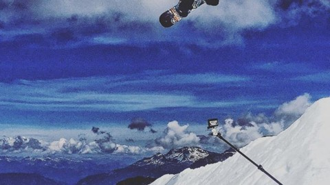 A camper blasts a method on the spine at @campofchampions. There is no better place to push your skills than summer snowboard camp! Photo: @theprostandard===================== #campofchampions #avalon7 #liveactivated #snowboarding