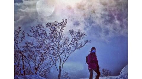 Dreaming of winter. @kyehalpin in Hokkaido, Japan. #avalon7 #inspiredstate #snowboarding www.a-7.co