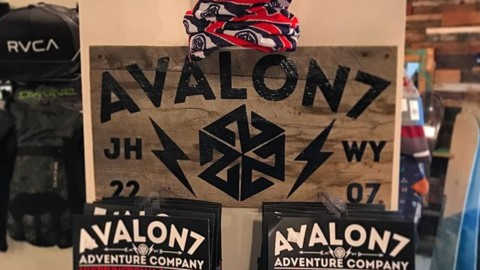 We just built this new display for our friends over at @aion_board_shop in #JacksonHole. They are having a huge #blackfriday sale today, bounce on in and check out all the new gear!  If you can't make it in real life, check out our 25% off sale at www.avalon7.co. ️#avalon7 #liveactivated #snowboarding