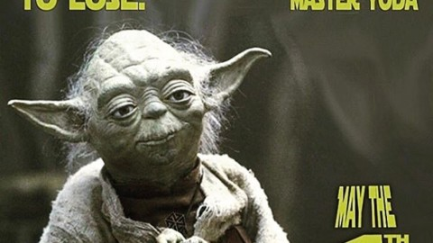 Yoda knows.  #liveactivated #futurepositiv #maythe4thbewithyou
