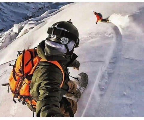 We can't wait to get out and ride with our friends this winter! @robkingwill and @sethwescott chase the dragon in New Zealand this summer while filming for the new @warrenmillerent film premiering in a week!  Tag someone you ant to shred with this winter!  @avalon7 Collective: #inspireeachother #liveactivated #snowboarding www.avalon7.com