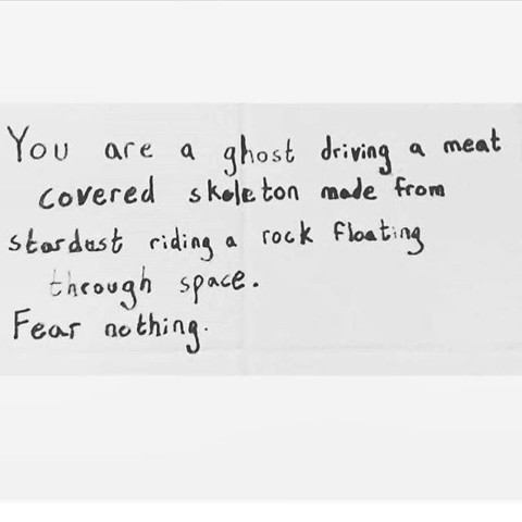 Fear nothing. Regram from @crystalrainbowyoga #AVALON7 #liveactivated