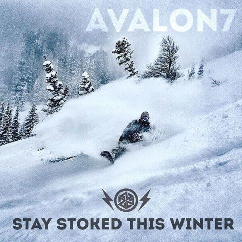 Pick up a new A7 FaceShield for you or someone you love and #staystoked this winter!  Check out all our limited edition designs here: www.avalon7.com  #AVALON7 #liveactivated #snowboarding