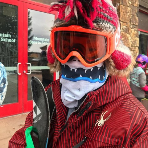 We're always stoked to see the kids rocking our Yeti Balaclava at @jacksonhole!  Design by @kyehalpin  Light and warm and awesome!  #AVALON7 #liveactivated #skiing Limited quantities available at www.avalon7.co