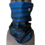 Warm Blue Faded Bonded Fleece Facesheld snowboard facemaskWarm Blue Faded Bonded Fleece Facesheld snowboard facemask