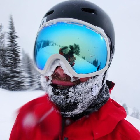 Stay stoked when the pow is deep by protecting yer face with one of our limited edition FaceShields. Designed and Tested in @jacksonhole.  Rider: @camfitzpatrick #avalon7 #staystoked #snowboarding #A7Collective www.avalon7.com