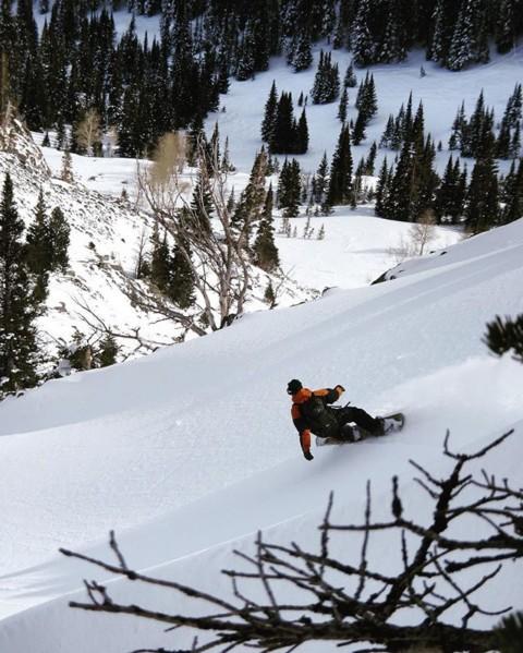 Renegade @shinbiyajima is one smooth operator.  #shapersummit @jacksonhole #snowboarding