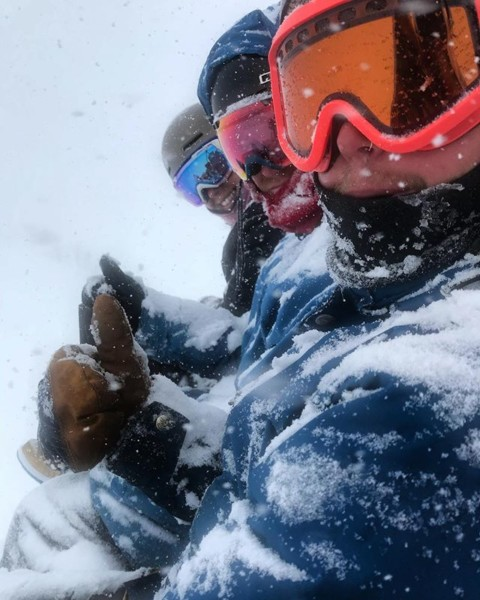 Keep your 'Shields up and #staystoked on days like this! @avalon7 @grandtargheeresort #powtown #snowboarding www.a-7.co