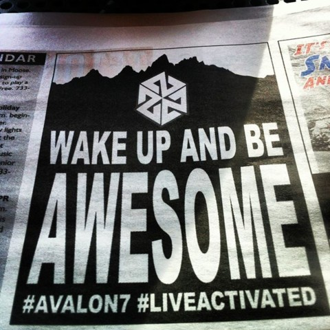 This just in. www.A-7.co #avalon7 #futurepositiv #quotes