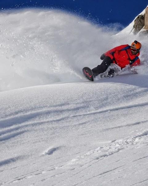 Dreaming of pow right now.  @sethwescott finds a #momentsofstoke in NZ. #seekthestoke #snowboarding @wintersticksnowboards