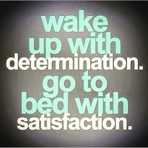 Determination and Satisfaction. www.A-7.co #avalon7 #futurepositiv #quotes