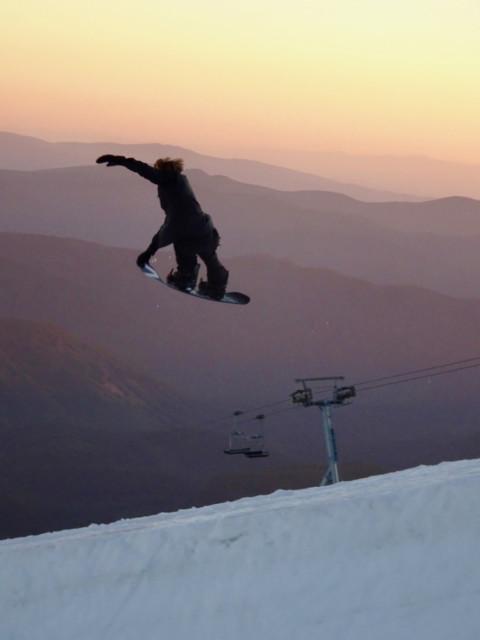 US Snowboard and Freeski Team Night Shoot at Mt Hood 2018